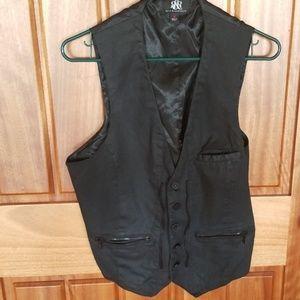 Mens dress vest, EUC